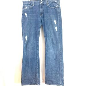 7 For All Mankind Bootcut Jeans Men's Size 36X34
